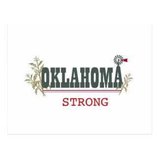 Oklahoma fuerte tarjeta postal