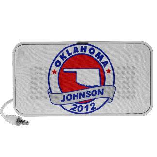 Oklahoma Gary Johnson Travelling Speaker