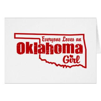Oklahoma Girl Card