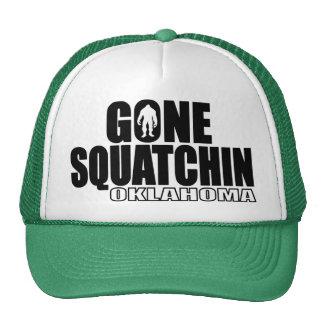 OKLAHOMA Gone Squatchin - Original Bobo Trucker Hat