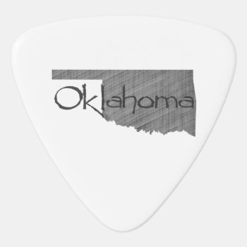 Oklahoma Guitar Pick by PNGDesign at Zazzle