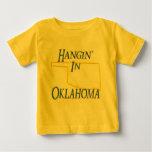 Oklahoma - Hangin Playera De Bebé