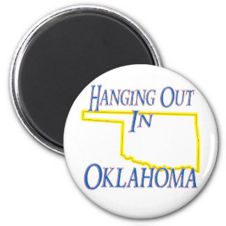 Oklahoma - Hanging Out Magnet