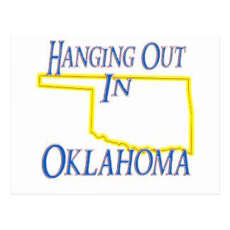 Oklahoma - Hanging Out Postcard