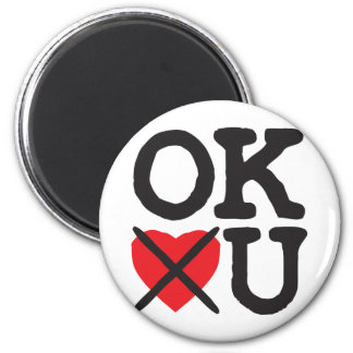 Oklahoma Hates You Magnet