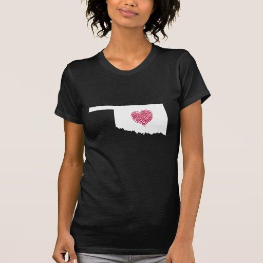 Oklahoma Heart Tee Shirt
