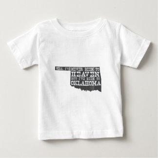Oklahoma Heaven - Gray Baby T-Shirt