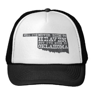 Oklahoma Heaven - Gray Trucker Hat