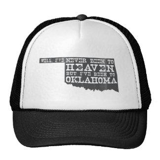 Oklahoma Heaven - Gray Trucker Hat