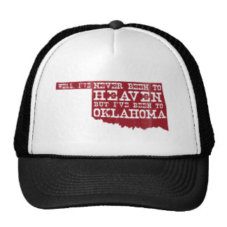 Oklahoma Heaven - Red Trucker Hat