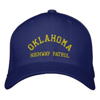 OKLAHOMA, HIGHWAY PATROL EMBROIDERED BASEBALL HAT