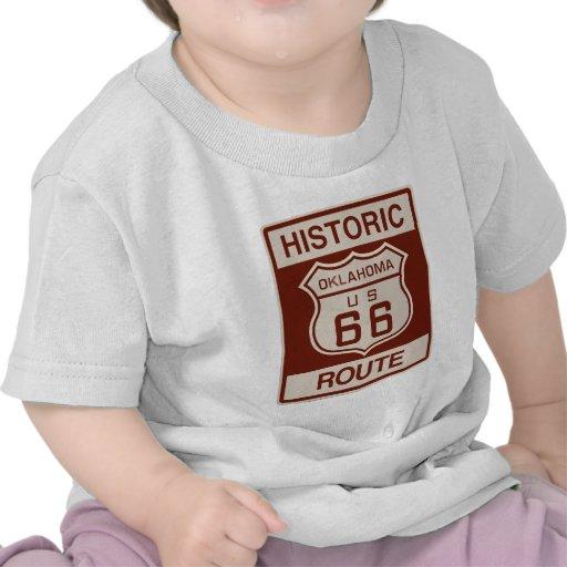 Oklahoma histórica RT 66 Camiseta