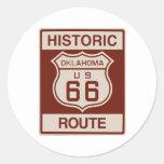 Oklahoma histórica RT 66 Etiquetas