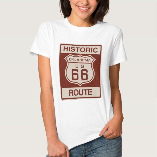 Oklahoma histórica RT 66 Poleras