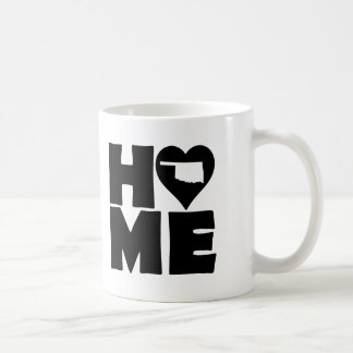 Oklahoma Home Heart State Mug or Travel Mug