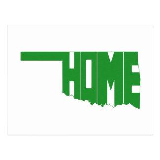 Oklahoma HOME State Postcard
