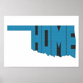 Oklahoma HOME State Print