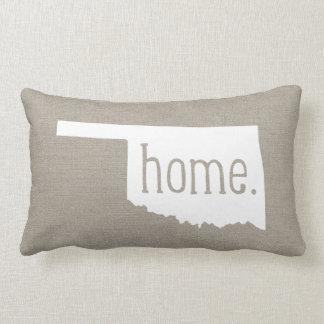 Oklahoma Home State Throw Pillow