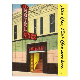 Oklahoma, hotel de Rex Postal