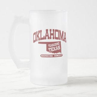 Oklahoma Jarra De Cerveza Esmerilada