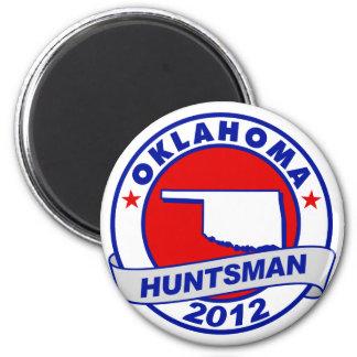 Oklahoma Jon Huntsman Magnets