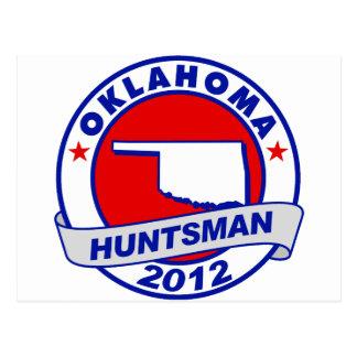 Oklahoma Jon Huntsman Postcard
