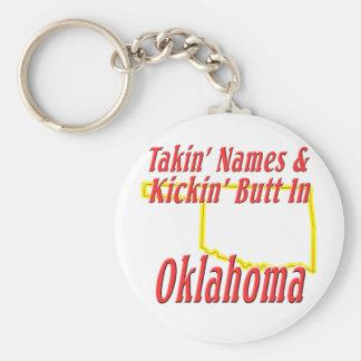Oklahoma - Kickin' Butt Keychain