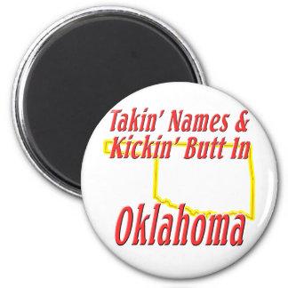 Oklahoma - Kickin' Butt Magnet