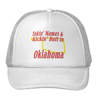 Oklahoma - Kickin' Butt Trucker Hat