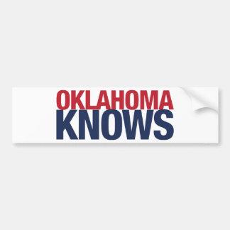 Oklahoma Knows Bumper Sticker