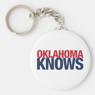 Oklahoma Knows Keychain