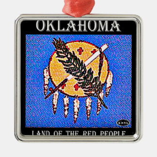 Oklahoma Land of the Red People Ornaments