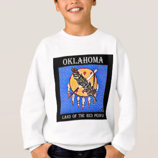Oklahoma Land of the Red People Sweatshirt