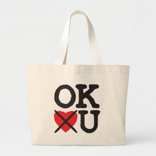 Oklahoma le odia bolsas lienzo