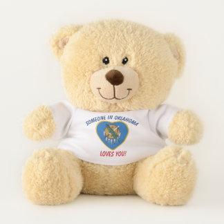 Oklahoma Loves You Teddy Bear
