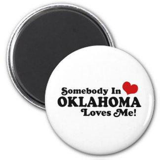 Oklahoma Fridge Magnet