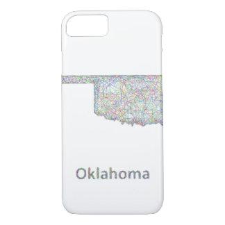 Oklahoma map iPhone 7 case