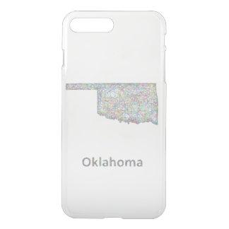 Oklahoma map iPhone 7 plus case