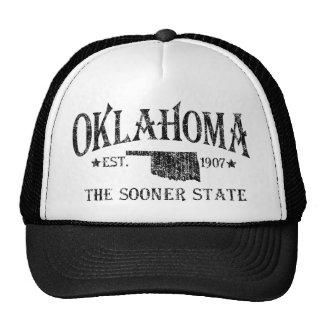 Oklahoma - más pronto el estado gorras de camionero