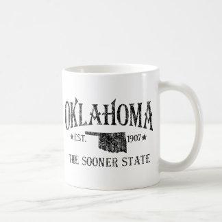 Oklahoma - más pronto el estado taza de café