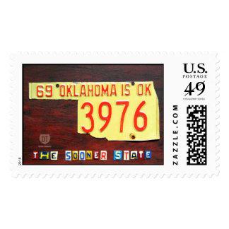 Oklahoma más pronto los sellos del mapa de la