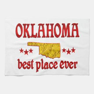 Oklahoma mejor toalla de mano
