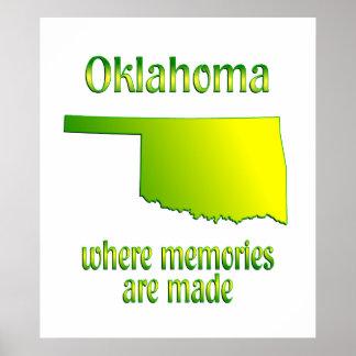 Oklahoma Memories Poster