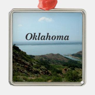 Oklahoma Metal Ornament