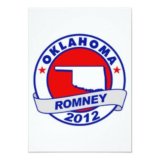 Oklahoma Mitt Romney 5x7 Paper Invitation Card