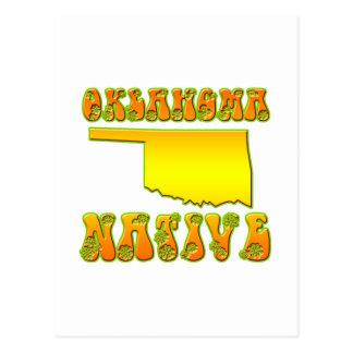Oklahoma Native Postcard