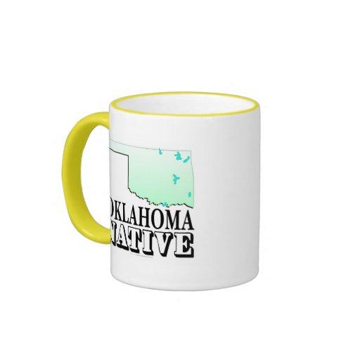 Oklahoma Native Ringer Coffee Mug