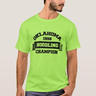 Oklahoma Noodling Champion T-Shirt