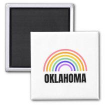 Oklahoma - Osu Cow boys - Pistol Pete Magnet