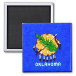 Oklahoma Painted Flag Products Refrigerator Magnet